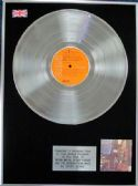 David Bowie - Platinum Disc LP - Ziggy Stardust